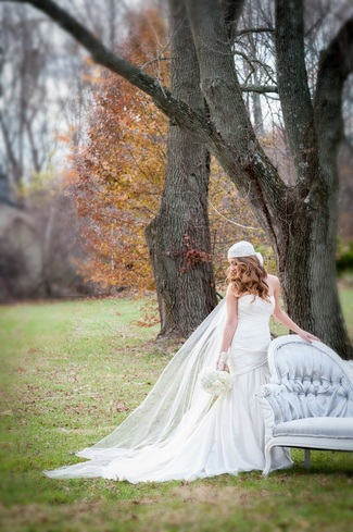 Lavish Love in a Forgotten Forest {Real Bride}