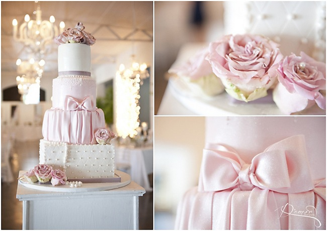 Romantic Peach and Pink Vintage Molenvliet Wedding