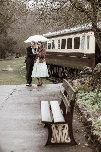1940s Vintage Railway E-Shoot, Monmouthshire, UK