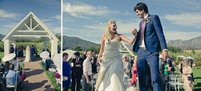 Alice in Wonderland Wedding at Kleinevalleij {Real Wedding}