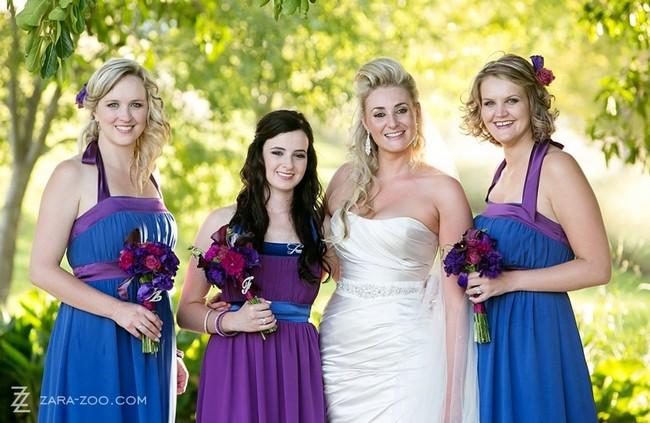 Alice in Wonderland Wedding at Kleinevalleij {Real Wedding}