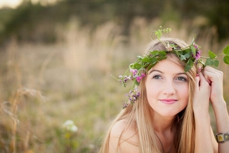 Boho Flower Girl and Bridesmaid Inspiration