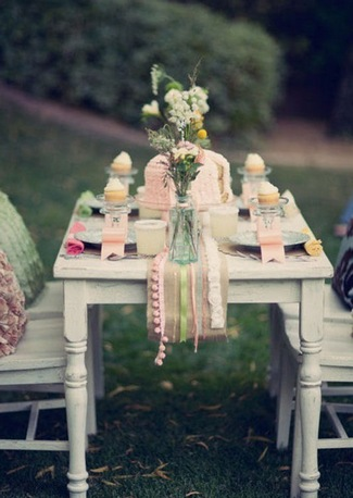 ideas here See table rustic gorgeous weddings some really  runner diy .)