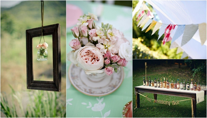 5 Fab Vintage Wedding Décor Style Tips