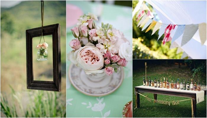 5 fab vintage wedding dcor style tips junglespirit Choice Image