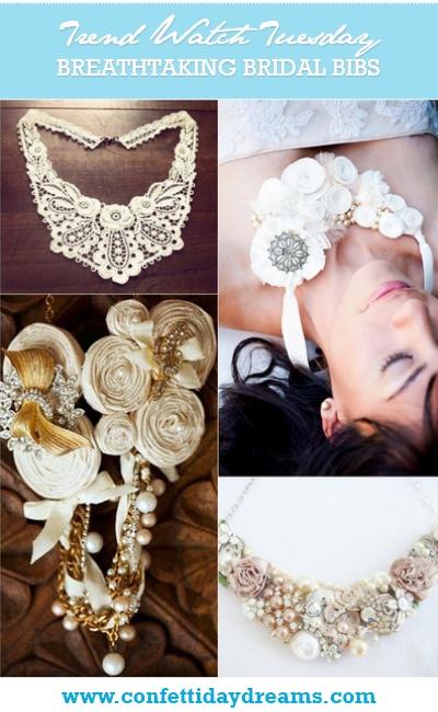 Breathtaking Bridal Bibs