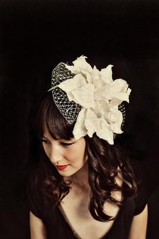 {Confetti DayDreams} Vintage Bridal Hairpiece