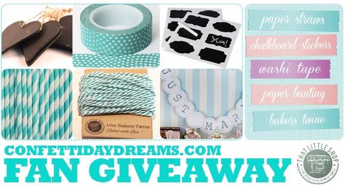 ConfettiDaydreams & That Little Shop Give-Away