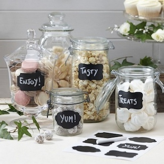 ConfettiDaydreams That Little Shop Give Away - Vintage Chalk Sticker Labels