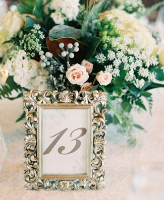 Table Numbers Wedding.20 Diy Wedding Table Number Ideas To Obsess Over