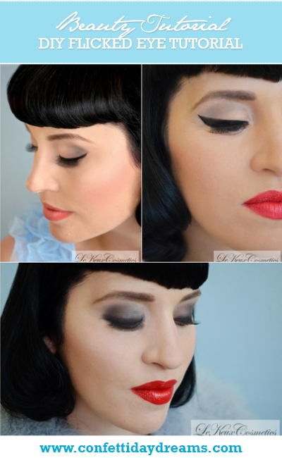 DIY Make-Up Flicked Eyeliner Tutorial