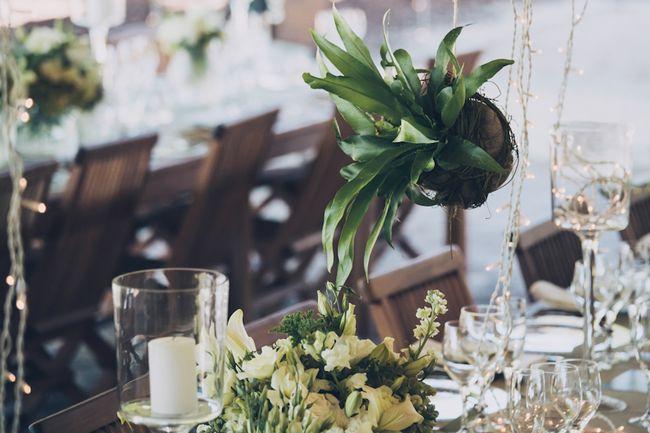 Outdoor Wedding in White & Green {Dornier Wine Estate}