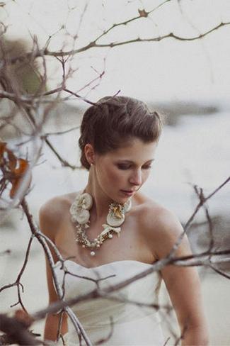 Vintage Bridal Bibs - Fabric Fun Bib