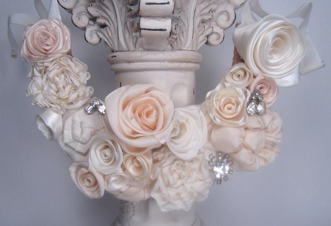 Vintage Bridal Bibs - Fabulous Flower Bib