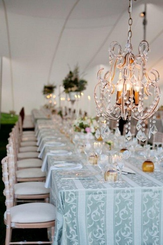 Vintage Wedding Décor Idea - Classic Vintage Tablescape