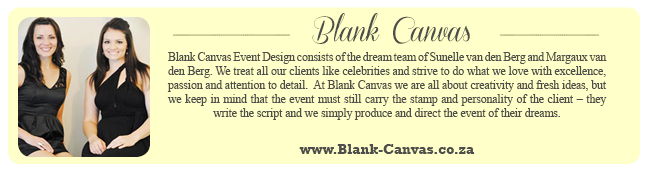 Wedding Expert Profile - Blank Canvas Events