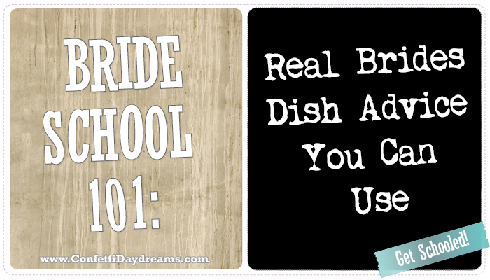Bride School 101: Budget Tips from Real Brides