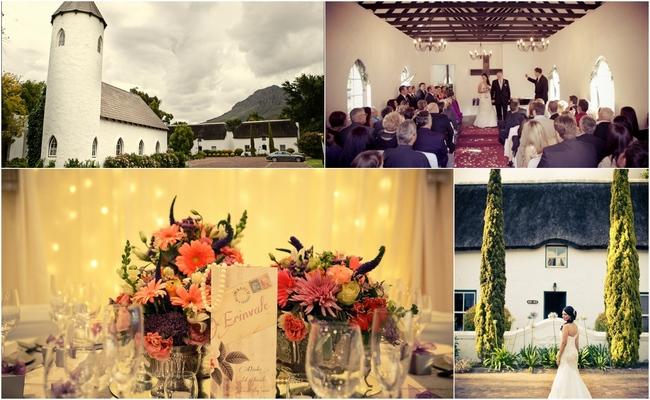 Cape Town Hotel Wedding Venues - Erinvale Hotel