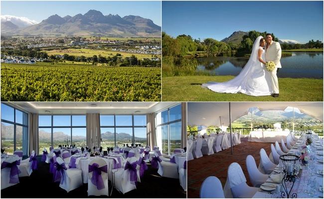 Cape Town Hotel Wedding Venues - Protea Hotel Stellenbosch