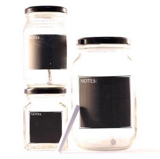 Consol Chalkboard Jars
