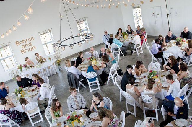 Cheerful  DIY Outdoor Wisconsin Wedding