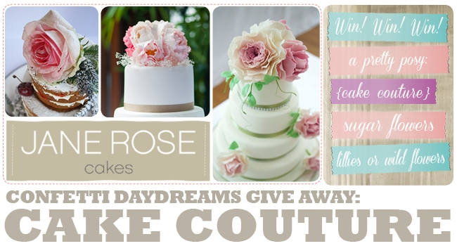 ConfettiDaydreams Jane Rose Cake Couture Give Away