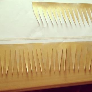 DIY Paper Wedding Lamps {Tutorial} Step 5