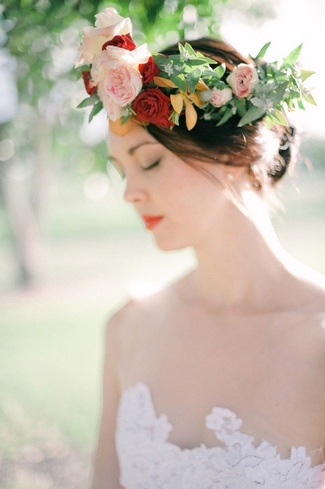 Floral Bridal Crowns & Flower Wreaths 06