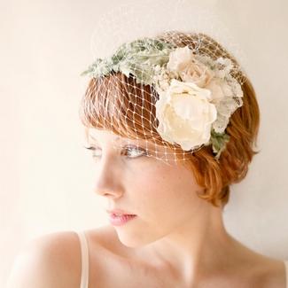 Floral Bridal Crowns & Flower Wreaths