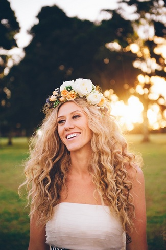 Floral Bridal Crowns & Flower Wreaths 11