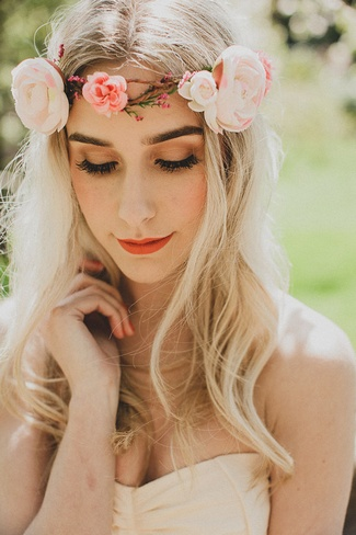 Floral Bridal Crowns & Flower Wreaths 13