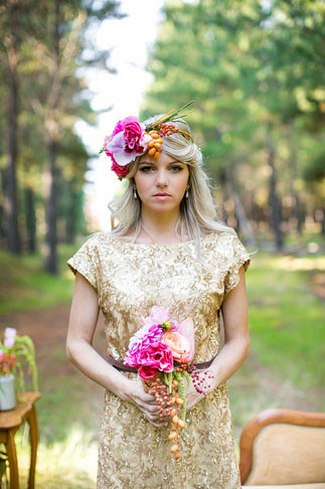Floral Bridal Crowns & Flower Wreaths 16 2