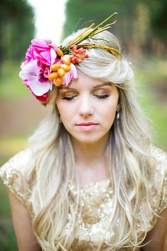Floral Bridal Crowns & Flower Wreaths 16 3