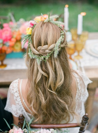 Floral Bridal Crowns & Flower Wreaths 18