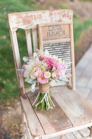Romantic & Rustic Garden Wedding in California