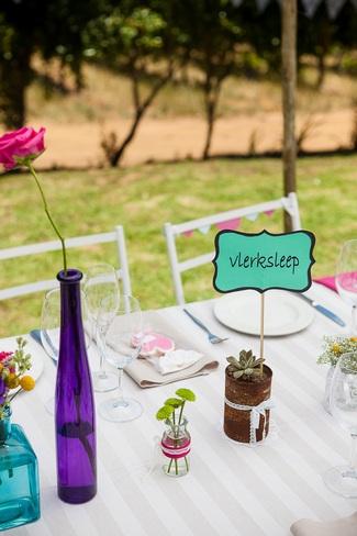 Outdoor Celebration of Love & Colour {Winelands Wedding}