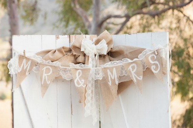 Romantic & Rustic Garden Wedding in California