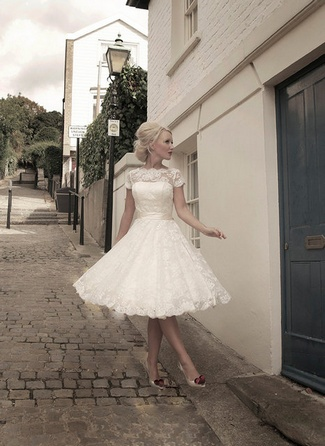 20 Short Wedding Dresses & Gowns