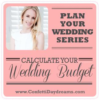 Wedding Budget Breakdown {Wedding Planning Series}