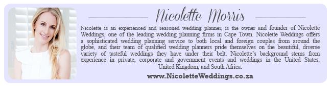Wedding Expert Profile - Nicolette Weddings