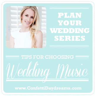 Choosing your Wedding Music: Band vs DJ {Wedding Planning Series}