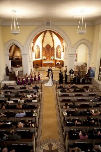 Elegant White Wedding Ceremony