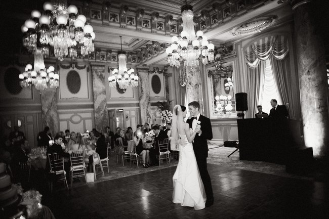 Elegant White Wedding Reception at The Willard InterContinental Hotel