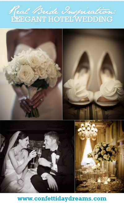Elegant White Wedding at The Willard Hotel, Columbia