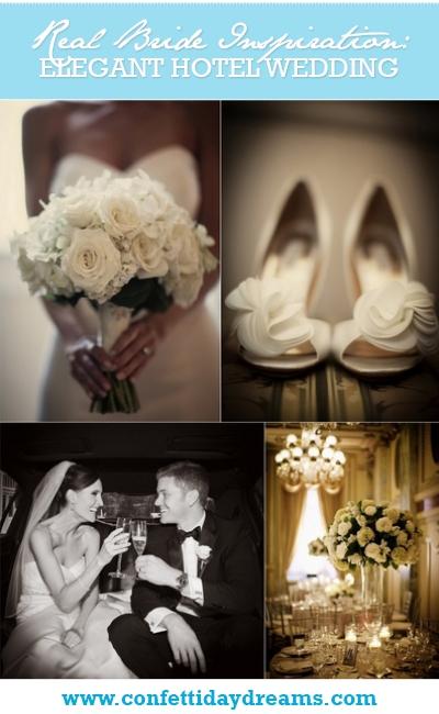 Elegant White Wedding at The Willard Hotel, Columbia