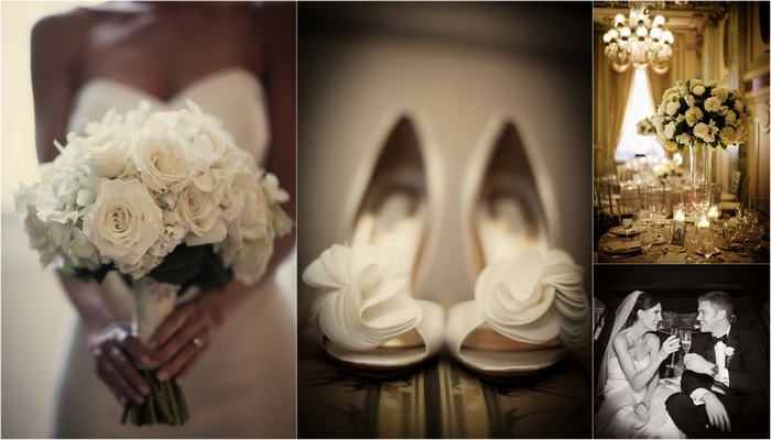 Elegant White Hotel Wedding in Georgetown