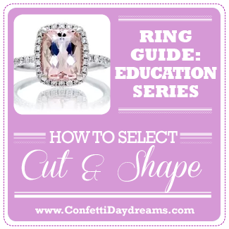 Engagement Ring Guide - Stone Cut and Shape Selection