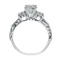 Three Stone Bezel Setting Engagement Ring | Kranichs