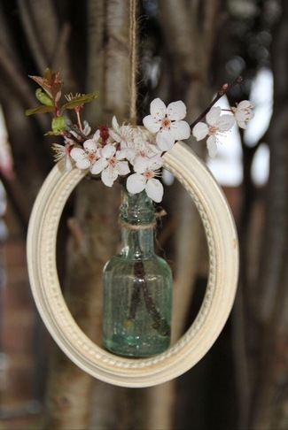 Framed Flower Vase