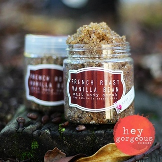 Hey Gorgeous Vanilla & French Roast Body Scrub